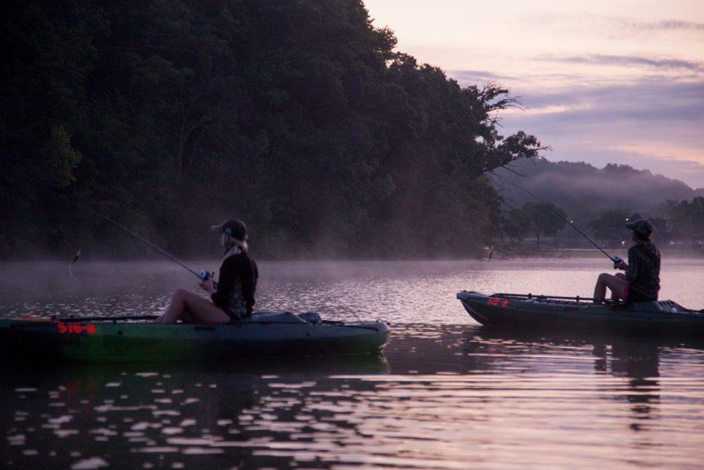 muskie fishing lake galena